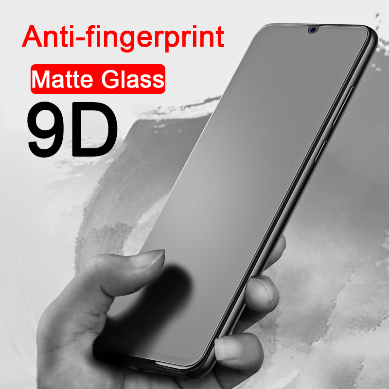 9D Anti-fingerprint Protective Tempered Glass for Samsung Galaxy A10 A20 A30 A40 A50 A70 A6 A8 Plus A9 2018 A9s screen protector(China)