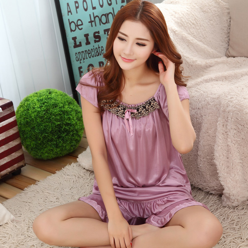 Online Get Cheap Silk Pajama Shorts Women -Aliexpress.com ...