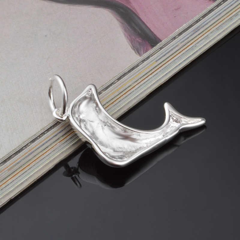 Mặt Dây Chuyền cá heo Giá Thấp Vòng Cổ Cho Phụ Nữ Dây Chuyền & Mặt Dây 925 Sterling Bạc Trang Sức Quyến Rũ Đồ Trang Sức Choker Bán Buôn