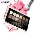 KIMUSE12 Colors  Eye Shadow Smoked Shadows Pallete Natural  Shimmer Matte Long-lasting Eyeshadows Makeup