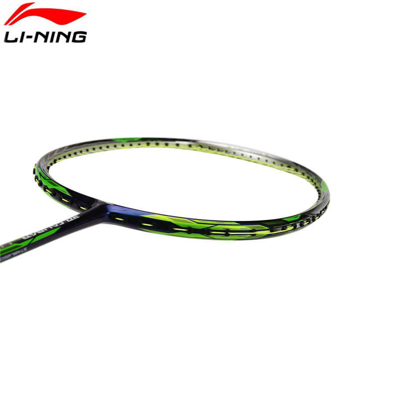 2019 Genuine Li-ning Professional 3D Calibar Badminton Racket Get Strung Carbon Racket With Free Grip Badminton Racquet