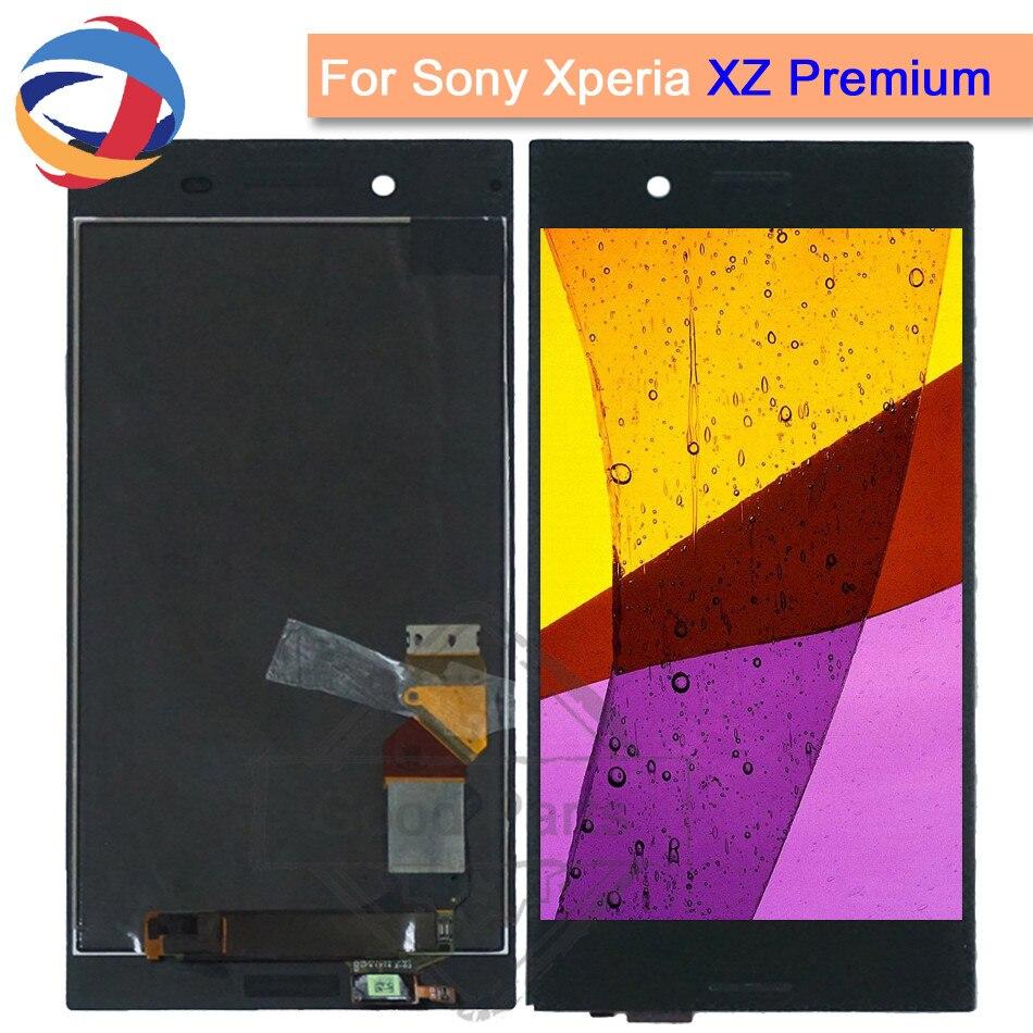 5.5LCD affichage pour Sony Xperia XZ Premium écran tactile numériseur capteur panneau 3840*2160 XZP assemblage remplacement G8141 G8142 lcd
