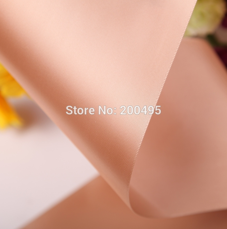 """[IuBuFiGo] """"(100 мм) Одно Лицо Атласная Лента Свадебная атласная 100 Двор/lot"""