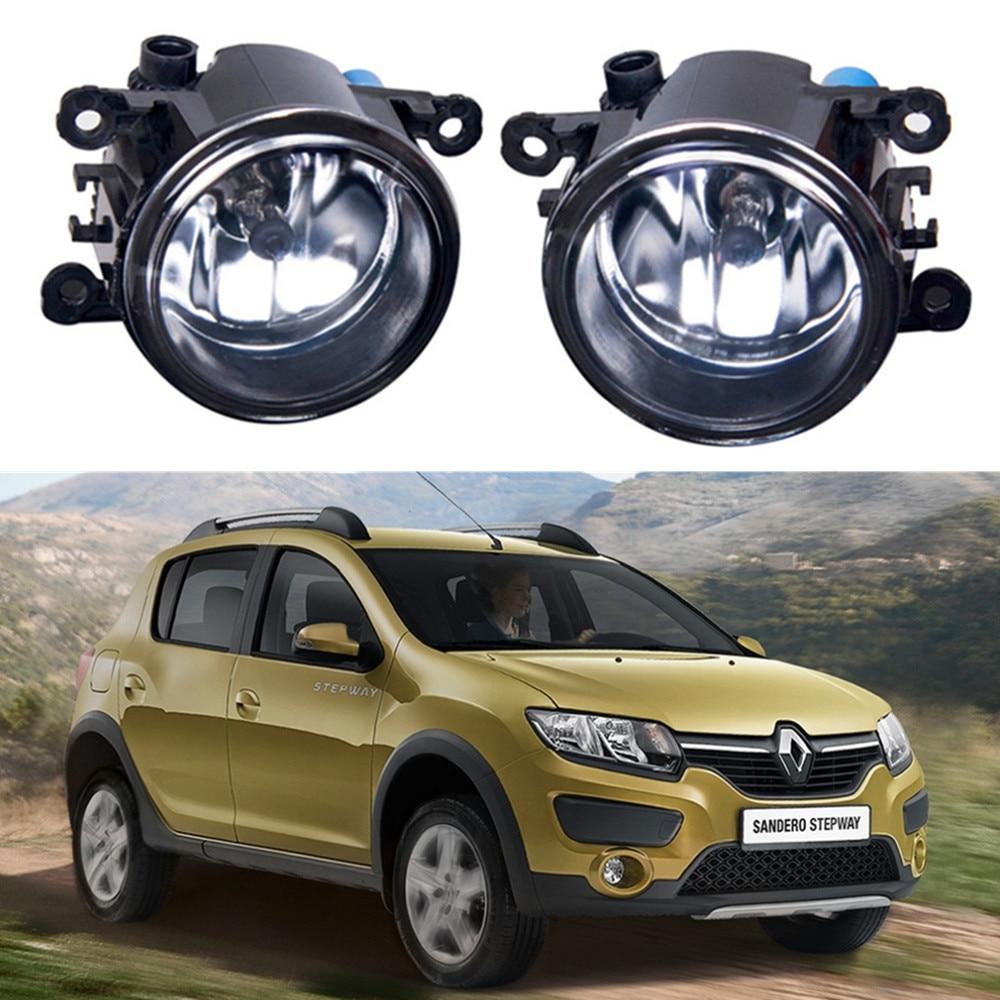 For Renault SANDERO Hatchback  2009-2015 Car styling Fog lights halogen lamps 1set стоимость