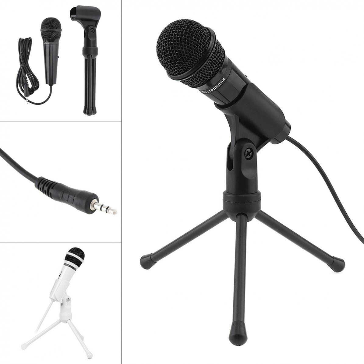 SF-910 Multifunctional Portable Computer Capacitive Microphone For Live Broadcast / Meeting / Speech With Detachable Bracket