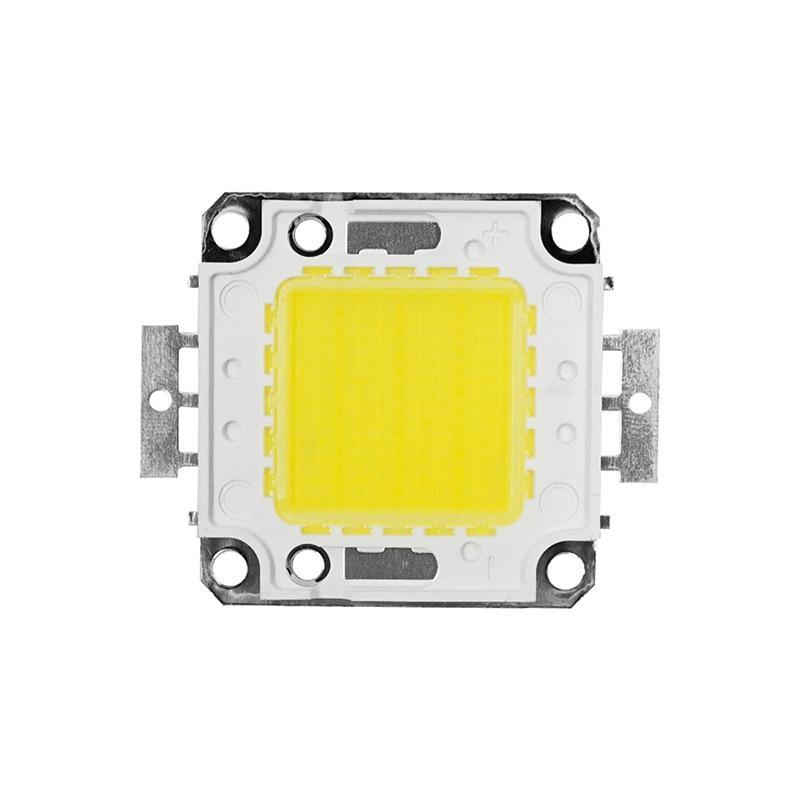 LED COBビーズチップハイパワー輝度10W 20W 30W 50W 70W 100Wは、フラッドライトランプスポットライト用のドライバーDIYが必要ですLED COBチップ