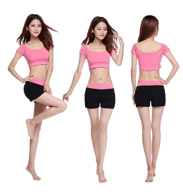 2015 New Fashion Hot Yoga Clothes Suit New Female Fitness Aerobics Yoga Wear Pants Dance Clothes Clothes Free Clothes Repairclothes Aliexpress
