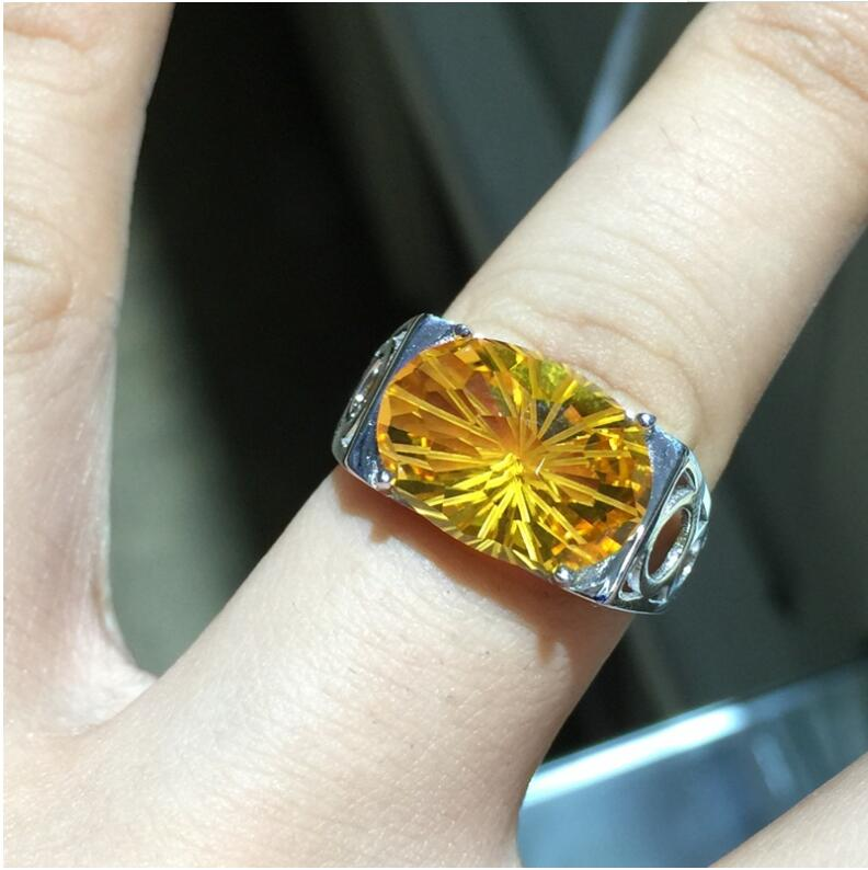Men ring Citrine ring Natural real citrine 925 sterling silver Fine yellow crystal jewelry Handworked jewelryMen ring Citrine ring Natural real citrine 925 sterling silver Fine yellow crystal jewelry Handworked jewelry