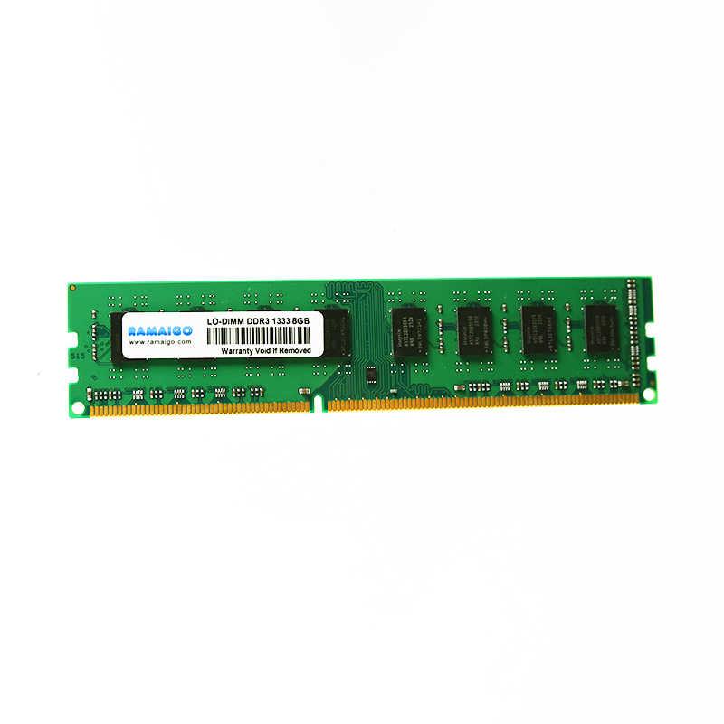 RAMAIGO DDR3 8GB 4GB 2GB RAMS PC3-12800 1600 PC Desktop Memory RAM Non-ECC  support DDR3 Intel AMD motherboard ram