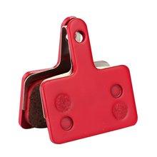 (P181BP)Ceramic brake pad Disc Brake Pads For Sram Avid MTB Semi-Metallic Hydraulic Brake Pad 1Pair Red motorcycle semi metallic brake pad set for suzuki gsr600 gsr 600 2006