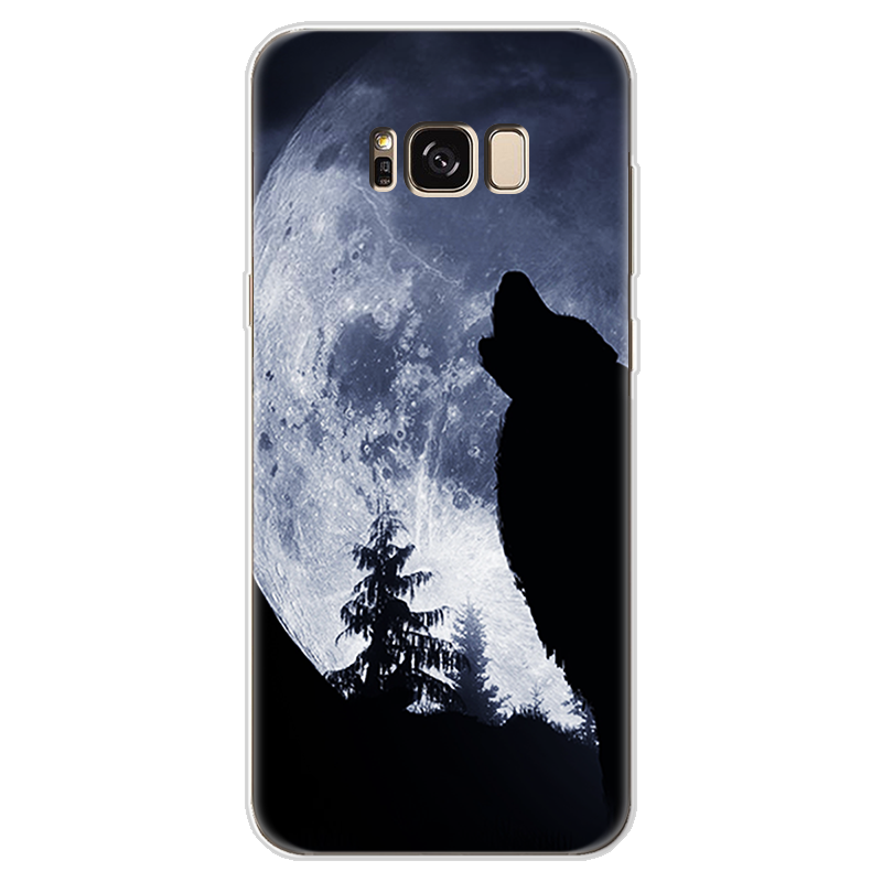 Objective Izyeky Case For Samsung Galaxy A5 2017 Lovely Cartoon Starry Sky Moon Soft Tpu Back Cover For Samsung A5 2017 A520f Coque Half-wrapped Case
