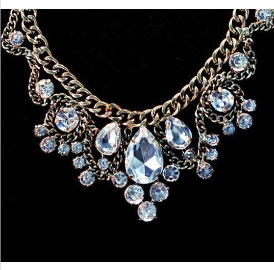 кристалл золото ожерелье staring нас negro себе Cole для женщин ожерелья и подвески