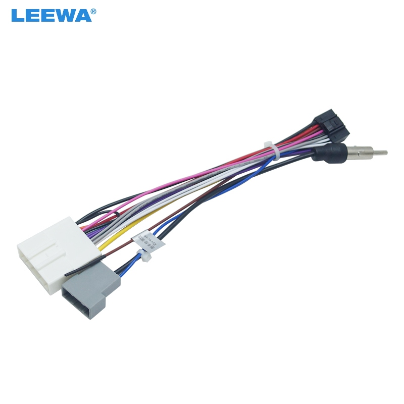 buy leewa 16p car head unit wire harness. Black Bedroom Furniture Sets. Home Design Ideas