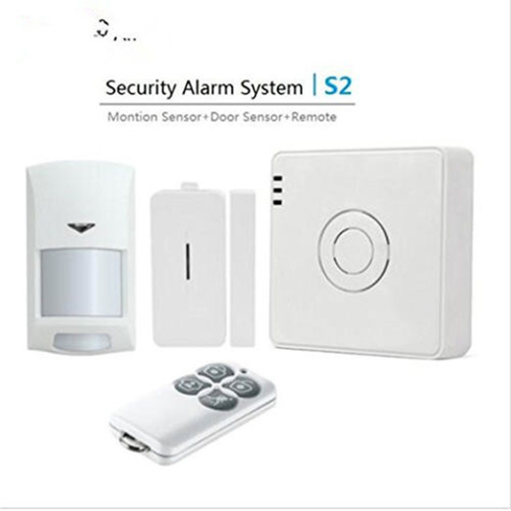 Broadlink S2 Kit Security Alarm Detector Motion Door Sensor Remote Control for Home Automation system Security Alarm System