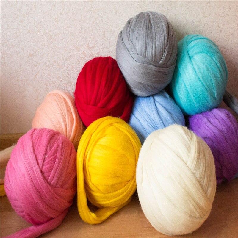 1kg Ball 100 Giant Super Chunky Merino Wool Yarn 19 Microns Wool
