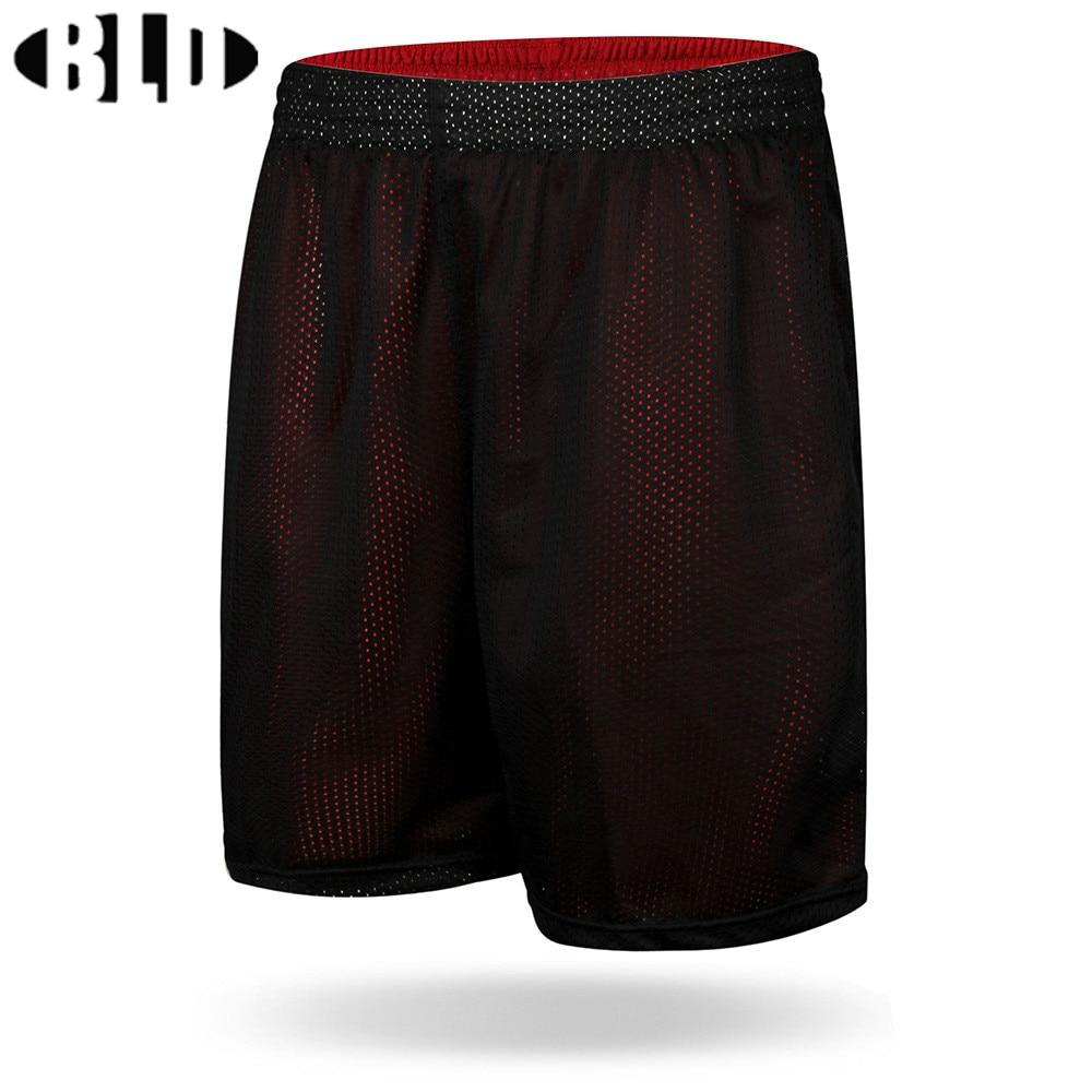 двусторонняя одежда для мужские баскетбольные шорты