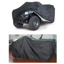 Universal Size L Quad Bike ATV Cover Parts Vehicle Tractor Motorcycle Car Covers Waterproof Resistant Dustproof Anti-UV