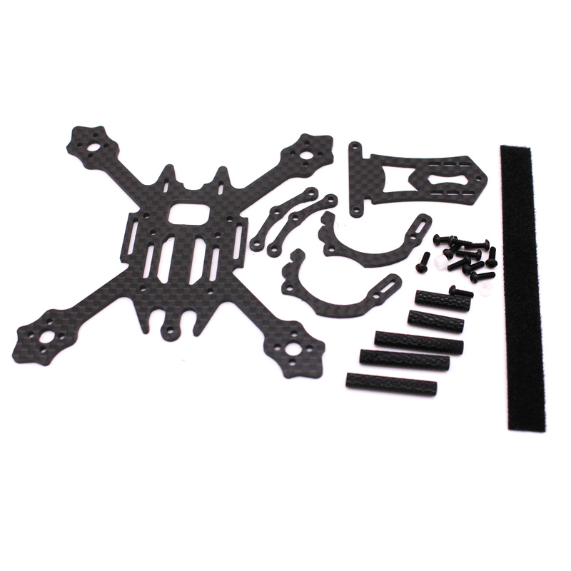 Image 5 - FSD Racing X100 100mm 2 inch Whoop Super light 3K Carbon fiber FPV frame RC drone for Gemfan 2036 prop F4 FC 11XX Motors EOS 2-in Parts & Accessories from Toys & Hobbies