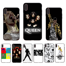 IMIDO QUEEN Freddie Mercury Soft silicone fitted case for iphone 7 8 X Xs Xr Xsmax 6 7/8/6s/6plus 5/6S SE TPU Phone shell cover imido oriental dragon pattern design soft black silicone phone case for iphone x xs xr xsmax 7 8 6 5 6s 6 7 8plus 5 6s tpu shell