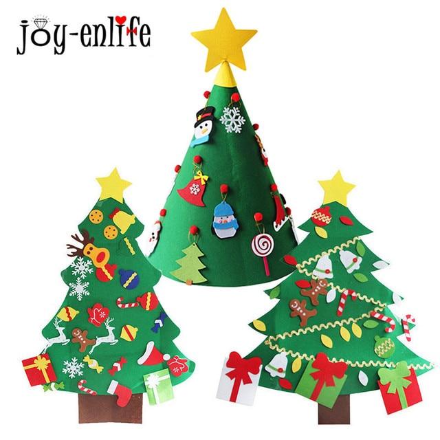 Christmas Gift Felt Christmas Tree Christmas With Lovely Ornaments ...