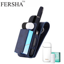 FERSHA electronic smoke protection cover for Japanese IQOS II generation compact comfort storage cigarette 2.4 plus case holster