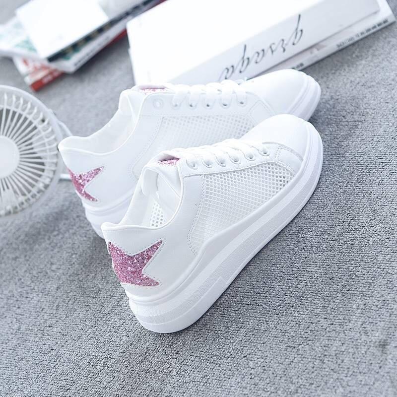 Hot Sale Women Sneakers Fashion Lightweight Mesh Flat Spring Summer Female Vulcanize Shoes Star Zapatillas