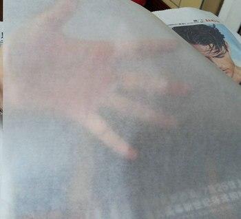 ĸ�国のライスペーパー玄紙ラッピングワックスペーパー、白石鹸ギフトブックワックス包装紙