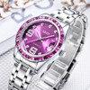 Color Crystal Gold Dress Watch Women Ladies Famous Brand Luxury Quartz Watch Wrist Female Clock Montre