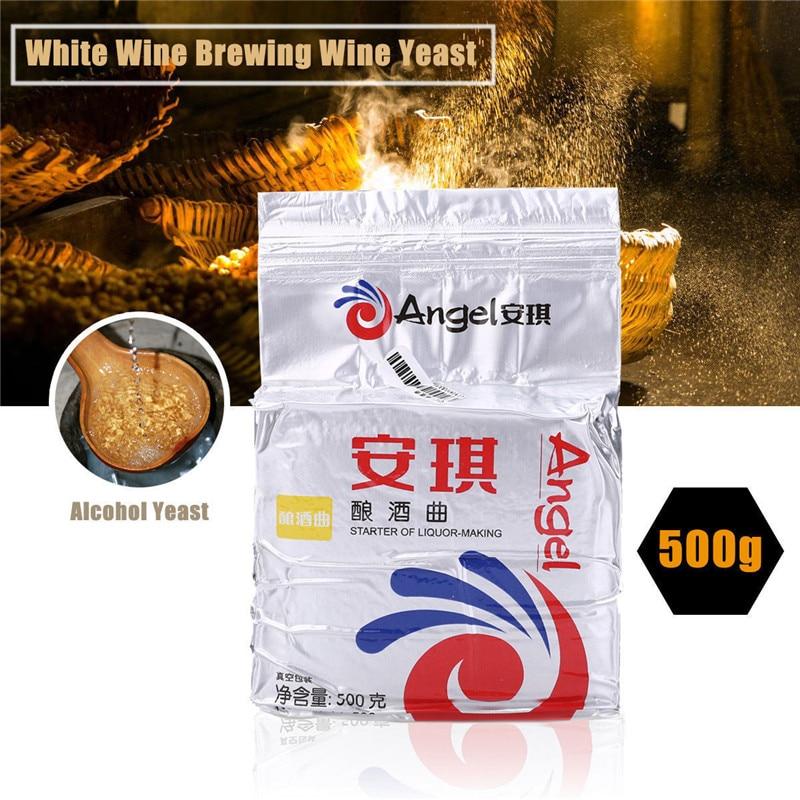 Angel дрожжи 500 г спиртовые дрожжи активные сухие дрожжи для брожения алкоголя/белое вино ПИВОВАРЕНИЕ производство Дата Октябрь 2018