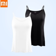 Xiaomi Youpin UREVO Womens Camisole Vest Bacteriostatic Bottoming Comfortable Soft Sexy Sleeveless