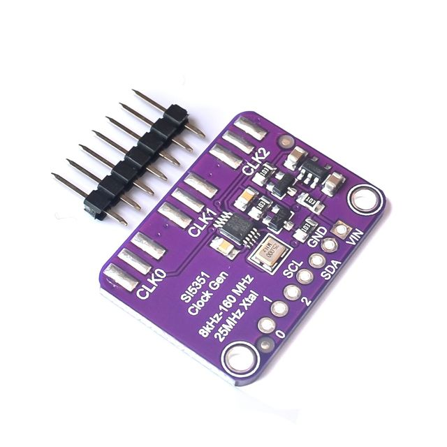 Si5351 Si5351A Clock Breakout Board Precision 25MHz Crystal Controller Signal