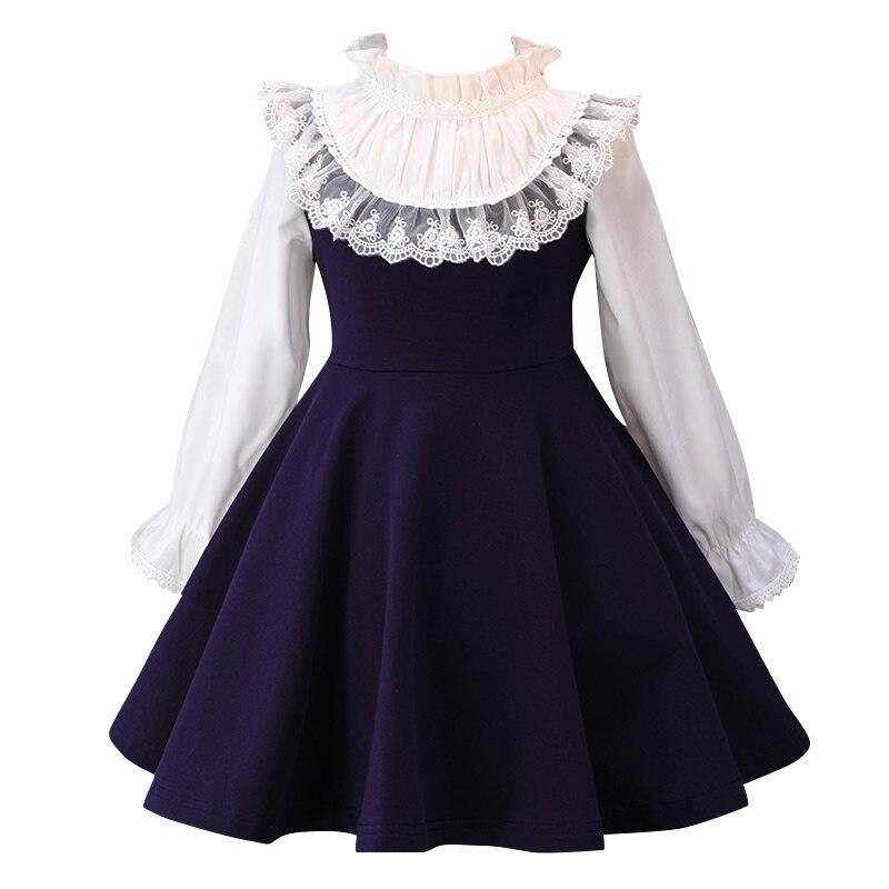 long sleeve   flower     girl     dress   Evening Party   Dress   for Wedding   Girl     Dresses   First Communion   Dress