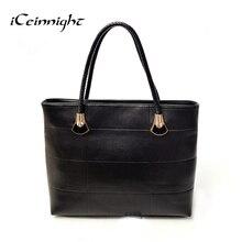 ICeinnight Краткий, но не простой женщины сумка твердые сумка кожа плед повседневная сумка кожаные сумки bolsos carteras