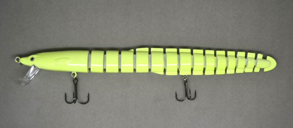 20cm bass fishing bait swimbait lure life like eel loach for Glow in the dark fishing lures