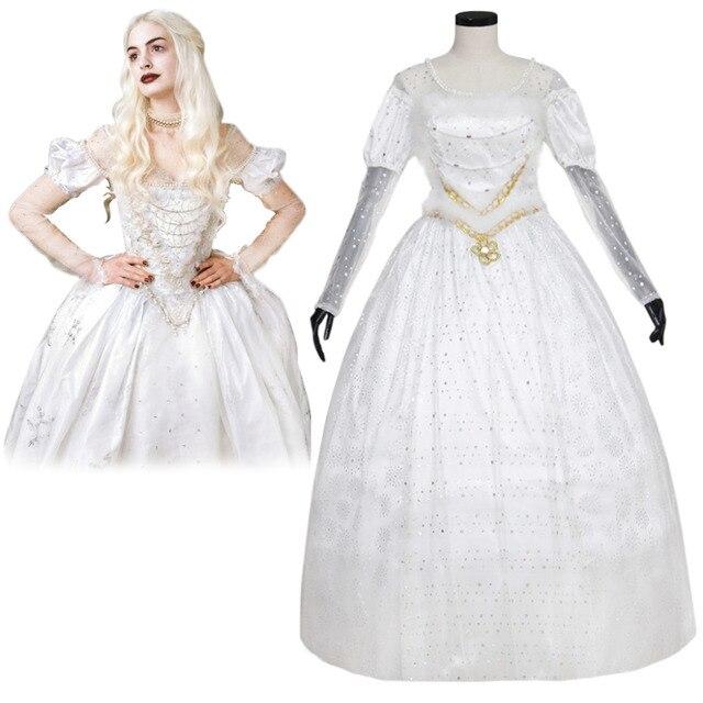 El vestido de la reina blanca