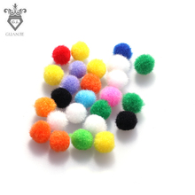 50 Pcs Multi Aromatherapy Pompons Perfume Essential Oil Diffuser Cotton Balls Locket DIY Crafts Supplies Necklace Replace 11mm