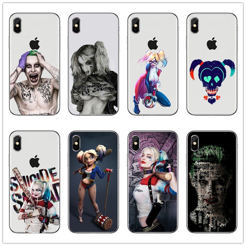 coque iphone 8 harley quinn new 52