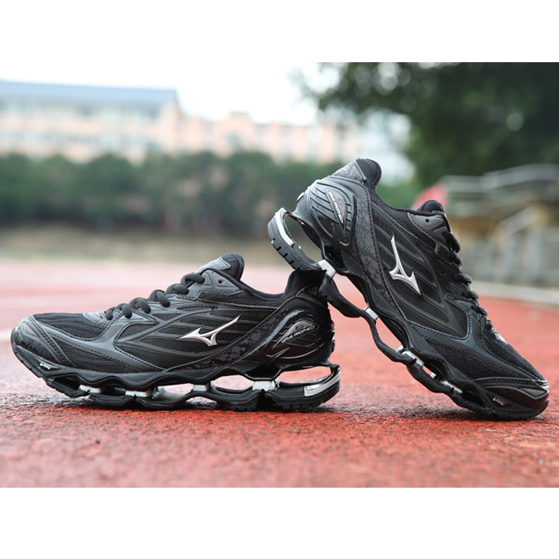 Mizuno Wave Prophecy 6 Professional Men Shoes original Outdoor Sport Sneakers Fencing Shoes Weightlifting Shoes Size 40-45 original mizuno wave prophecy 6 professional weightlifting shoes men sneakers outdoor high quality sport sneakers size 40 45