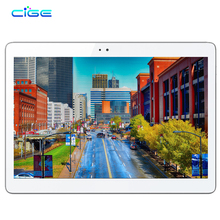 CIGE Newest A5510 3G 4G LTE Android 5.1 10.1 inch tablet pc octa core 4GB RAM 64GB ROM 5MP IPS Tablets Phone MT8752