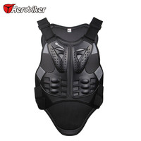 HEROBIKER Motorcycles Chest Back Body Protector Armour Vest Motorcycle Accessories Protective Gears Armour Jacket Waistcoat XL