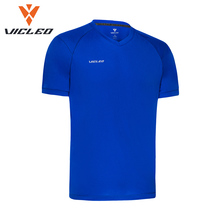 Vicleo бренд Майки спортивные дышащая быстросохнущая Футбол обучение рубашка одежда для Для мужчин Бег Фитнес тренажерный зал spoetswear 16z02001