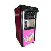 Elektrikli yumuşak dondurma makinesi dondurulmuş yoğurt makinesi meyve yumuşak dondurma yapma makinesi