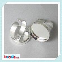 Beadsnice ID10381 Регулируемые кольца с 20 мм изготовленное вручную кольцо База Установка уникальный дизайн для изготовления ювелирных изделий
