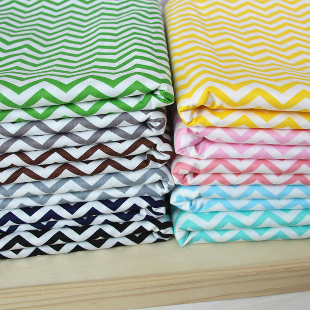 100% cotton twill cloth geometry nordic wind BLUE GRAY GREEN ...
