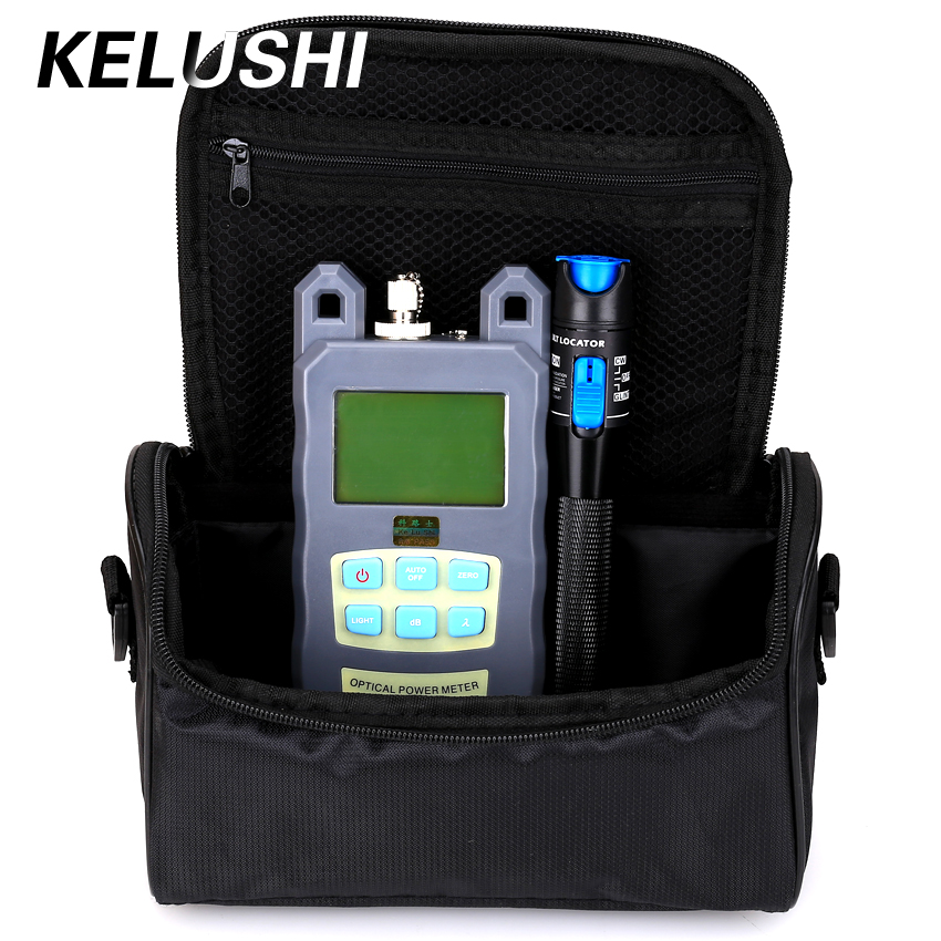 KELUSHI 2 in 1 FTTH Fibre Tool Kit Optische Power Meter 1 mW 5 KM - Communicatie apparatuur