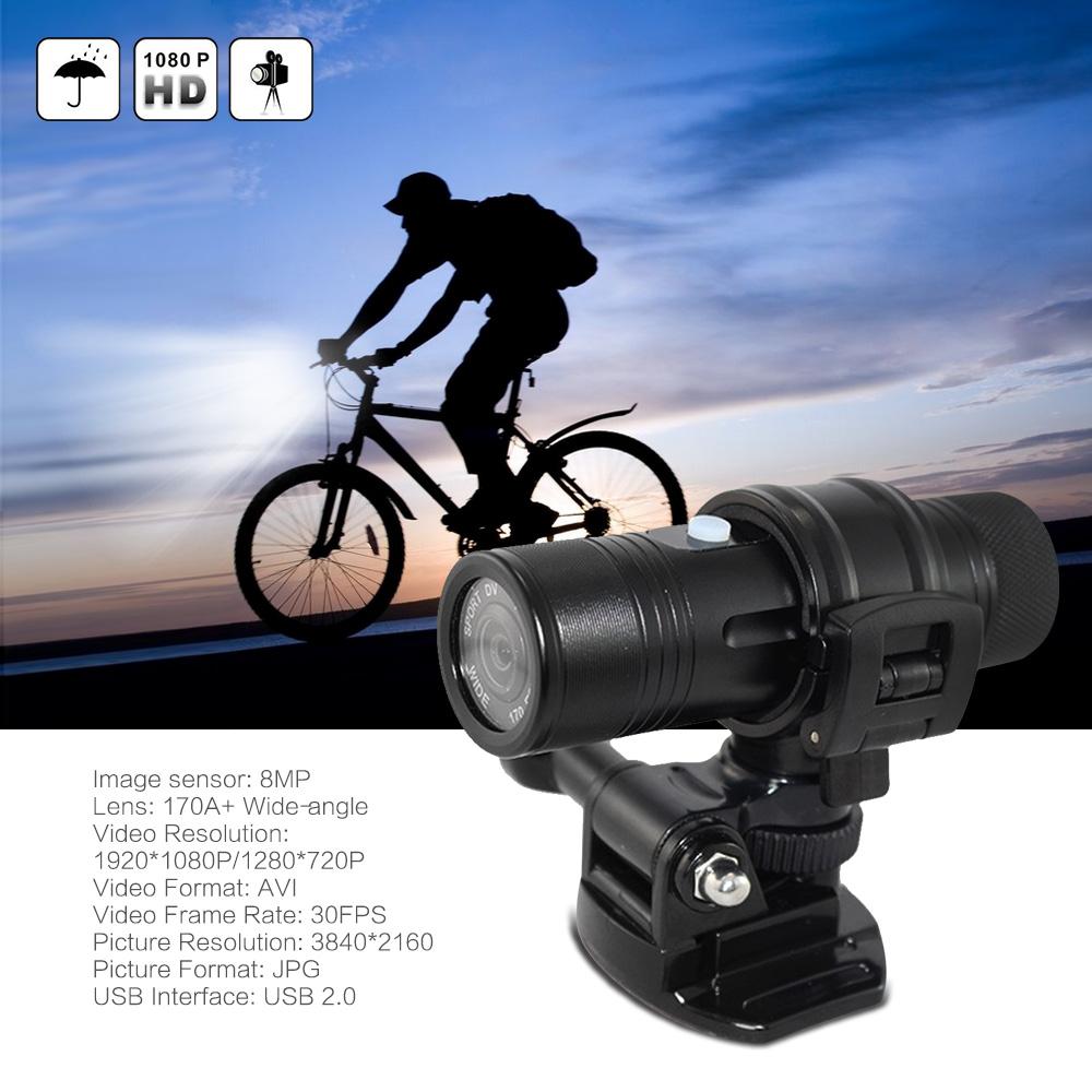 Prix pour D'action Caméra HD 1080 P 8MP Go Sport Caméra Pro Étanche Objectif grand-angle Mini Caméra Caméscope De Voiture DVR en plein air Casque De Vélo