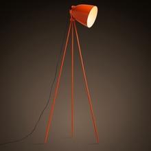 Нордический дизайн orange торшеры штатив трицикл офисные торшер спальня гостиная настольная лампа исследование простой свет FG749