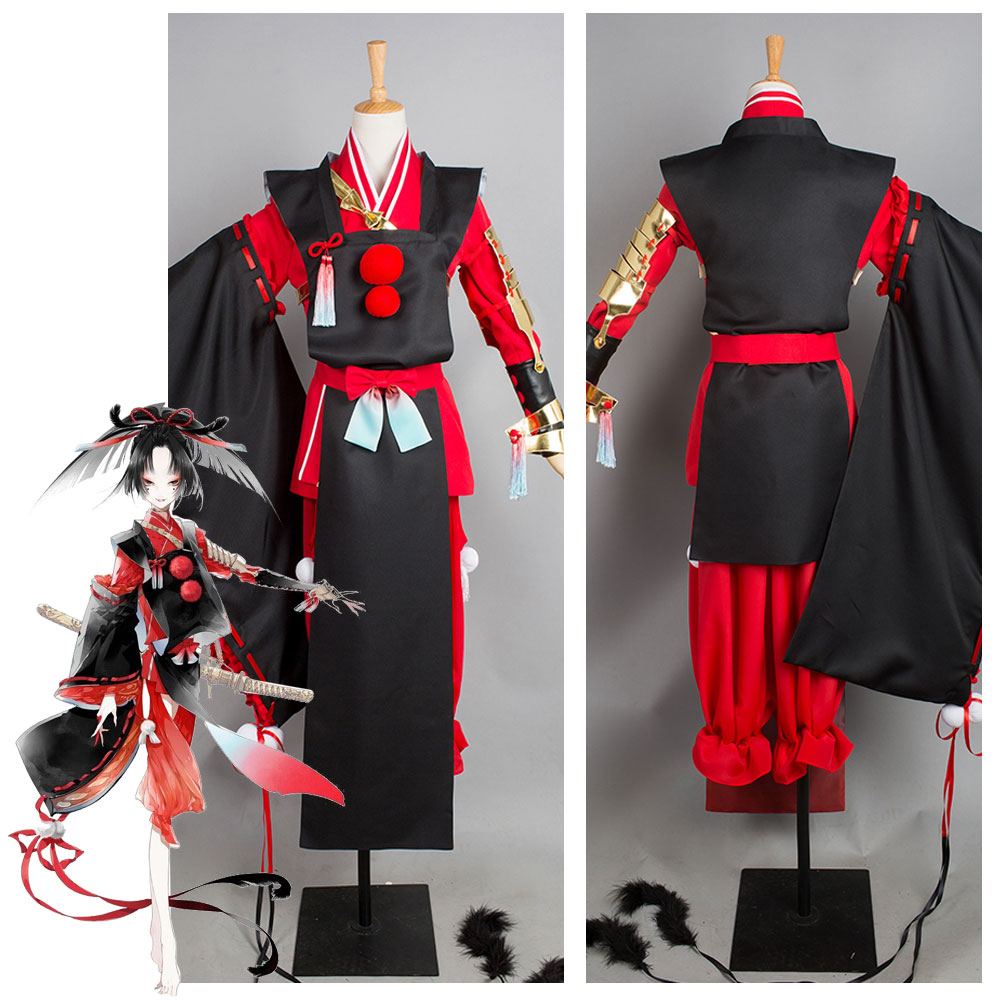 Touken Ranbu Kogarasumaru Kimono Cosplay Costume Halloween Carnival Costumes
