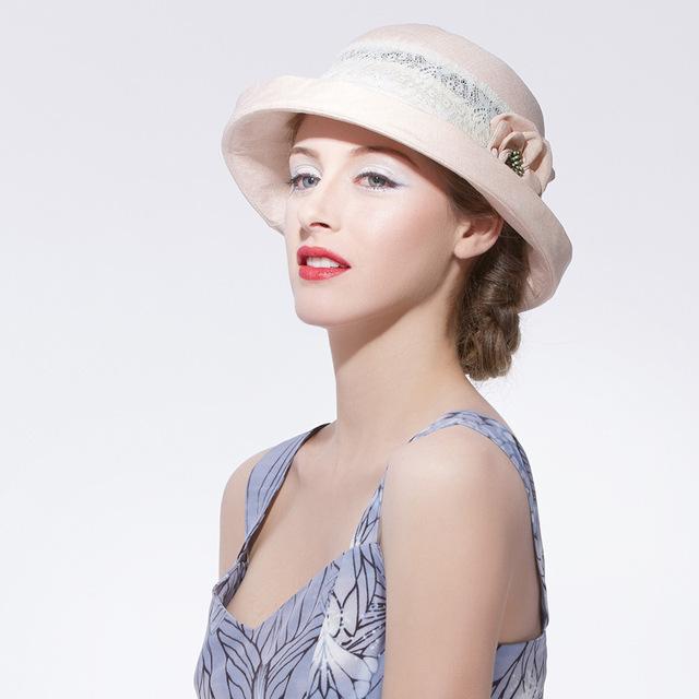 Promoción Nueva Señora Sol Sombrero de Ala Del Casquillo de Moda Femenina Verano Uutdoor Plegable A Prueba de Viento UV Sombrero B-2837