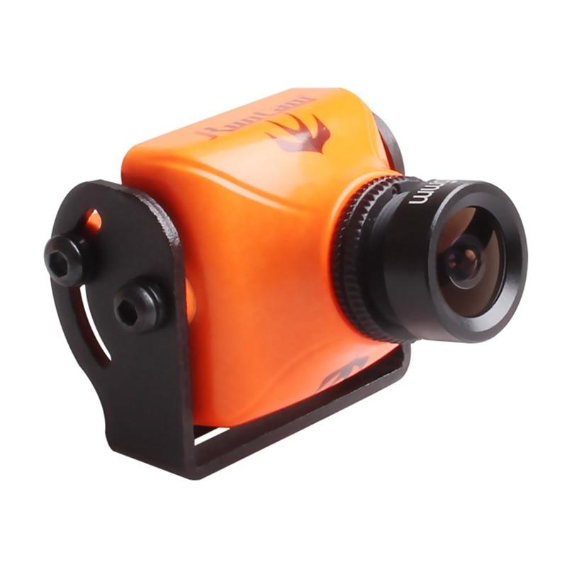 RunCam Swift 2 1/3 CCD PAL Micro Camera IR Blocked FOV 130/150/165 Degree 2.5mm/2.3mm/2.1mm Integrated OSD MIC